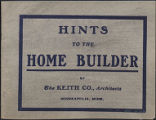 Hints to the Homebuilder