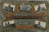Souvenir of the picturesque Alamo City, San Antonio, Texas