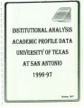 Academic Profile 1996-1997