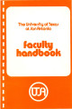 UTSA Faculty Handbook