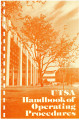 UTSA Handbook of Operating Procedures (HOP)