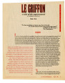 Le Griffon as published in La Voz de Esperanza, 1996
