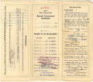 Pecos Street property papers, 1911-1921