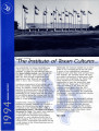 Annual report - The University of Texas Institute of Texan Cultures at San Antonio, 1994
