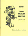 Report - Texas Folklife Festival, August 7-10, 1975