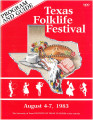 Program guide - Texas Folklife Festival,  August 4-7, 1983