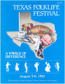 Program guide - Texas Folklife Festival,  August 5-8, 1982