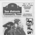 San Antonio Community News, April 16, 1999