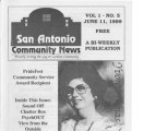San Antonio Community News, June 11, 1999