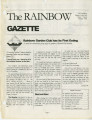 Rainbow Gazette, Volume 1, Issue 6, November 1996