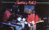 Curley Mays performing at Santa's Place, San Antonio, Texas, ca. 2000