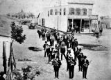 Odd Fellows Band, El Campo, Texas, 1908