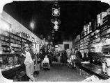 Interior of Kunetka and Morgan Store, Yoakum, Texas, 1910-1915
