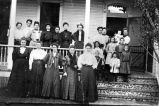 A German social club, Bastrop, Texas, ca. 1905