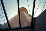 Tower of the Americas:  view looking upward from the atrium, HemisFair'68