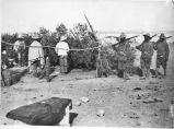 10th Cavalry Soldiers guarding prisoners captured during Punitive Expedition