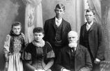 Andrew John Nelson and four of his children