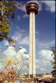 Tower of the Americas and ferris wheel at HemisFair'68