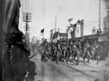 10th U. S. Cavalry in Battle of Flowers Parade, San Antonio, Texas, 1899
