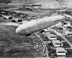 U. S. Army rigid airship RS-1 over Brooks Field, 1921