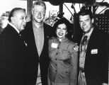 Texas State Senator Gregory Luna and wife, Helen, with President Bill Clinton and Texas...