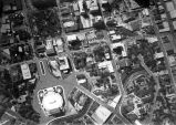 Aerial view of Municipal Auditorium and surrounding area, San Antonio, Texas, 1927