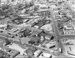 Aerial view looking west on North Street in Urban Renewal Project 5