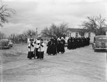 Procession from Convent of Missionary Servants of Christ the Master and St. Anthony to St. Anthony's Shrine on the...