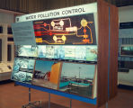Air pollution control exhibit in the General Motors Pavilion at HemisFair'68